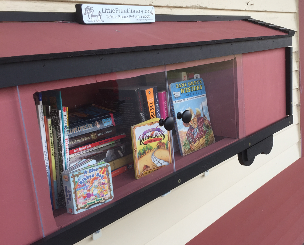 Onamia Depot Library Little Free Library